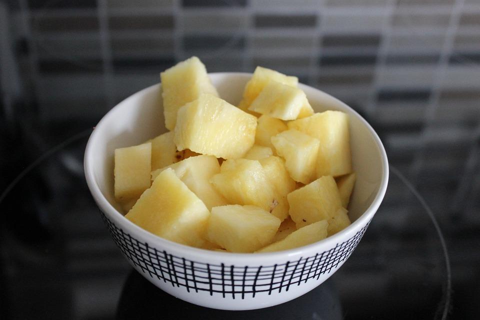 ananas recepty citronova trava